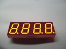 0.8 inch 4 digit 7 segment led display