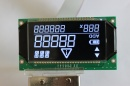 7 segment lcd screen display