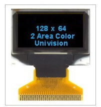 128×64 OLED display module